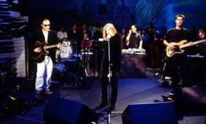 Portishead performing on Later… With Jools Holland in 1994.