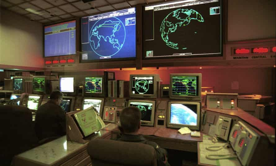 Control centre Norad ( Cheyenne Mountain ) near Colorado Springs. The new nuclear policy is significantly more hawkish that the posture adopted by the Obama administration.