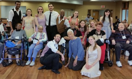 Dianne McIntyre's Verb Ballets is just one of the adult care center projects funded by an NEA grant.