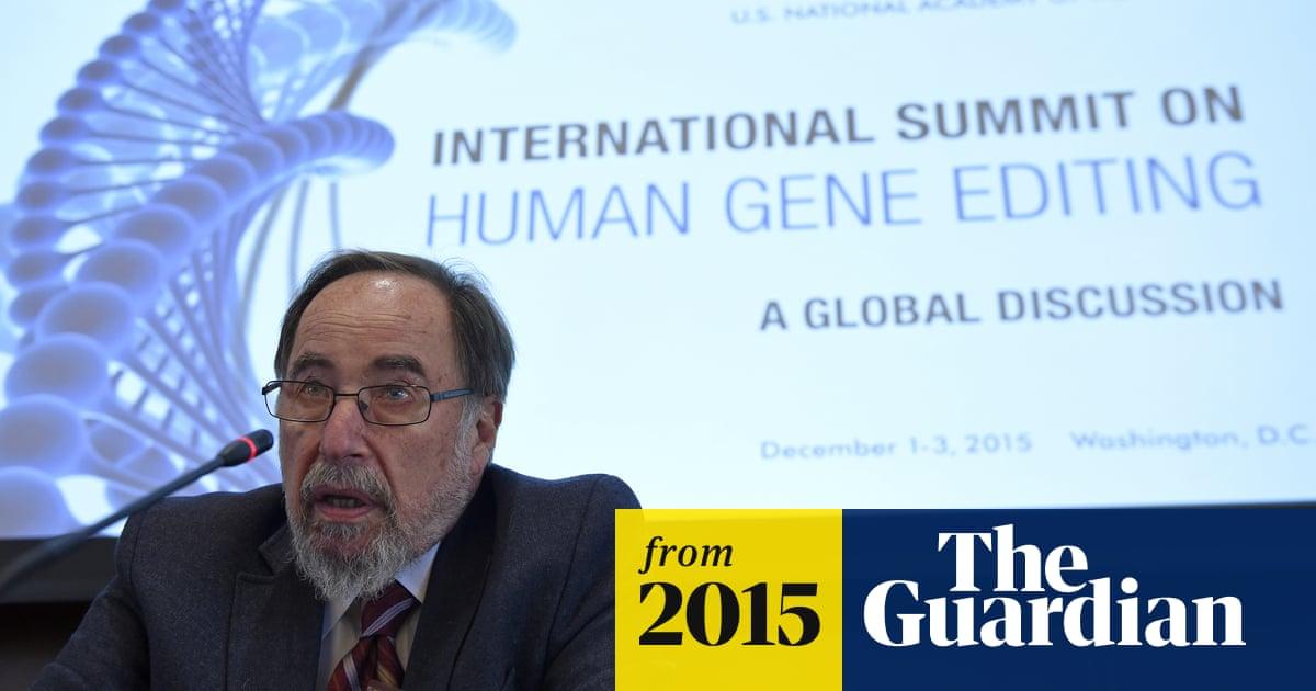 Scientists debate ethics of human gene editing at