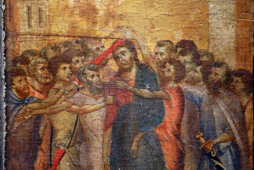 Christ Mocked, a long-lost masterpiece by the Florentine Renaissance artist Cimabue.