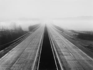 Untitled, France, 1989. From the Transmanche series A26 Motorway Calais-Reims