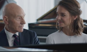 Hitting all the wrong notes … Patrick Stewart and Katie Holmes in Life With Music.