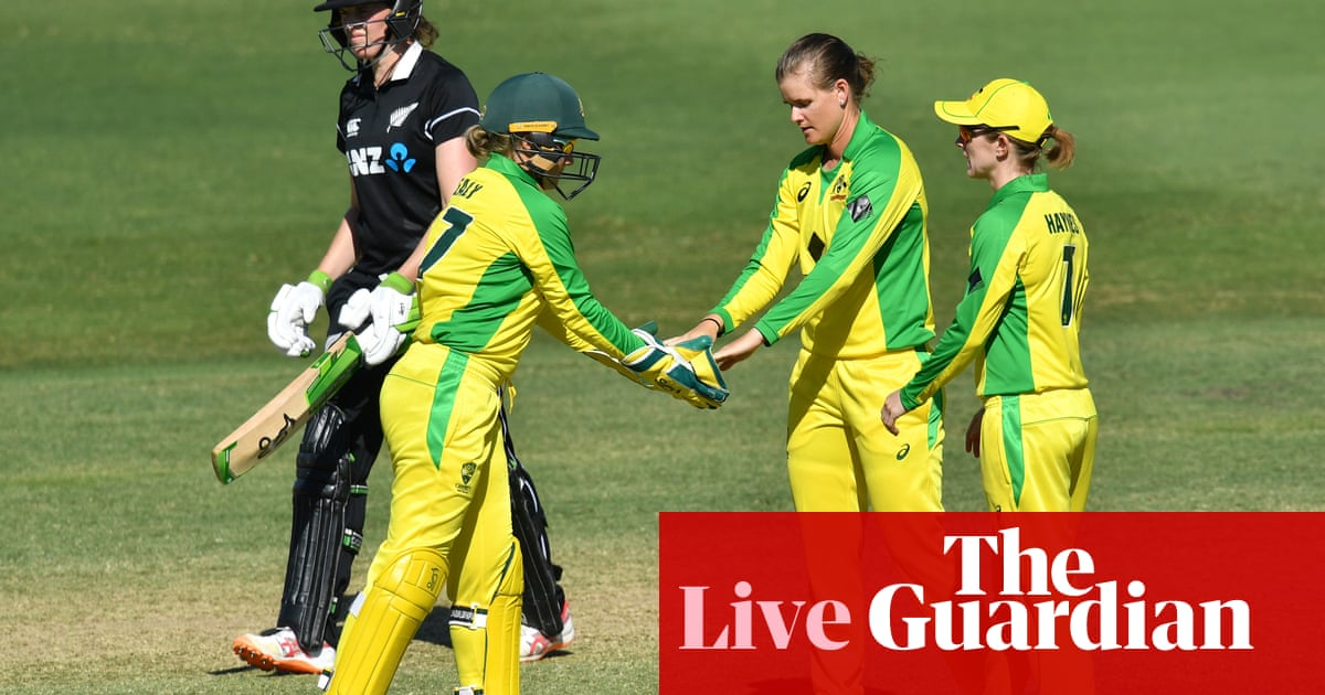 Australia equal ODI record with a massive victory over New Zealand – as it happened