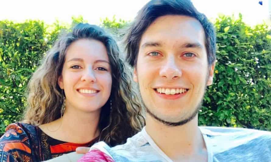 Luca Russo and his girlfriend Marta Scomazzon