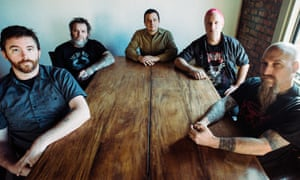 'A band can be havy without giant guitars' … Neurosis, with Steve Von Till at far right.