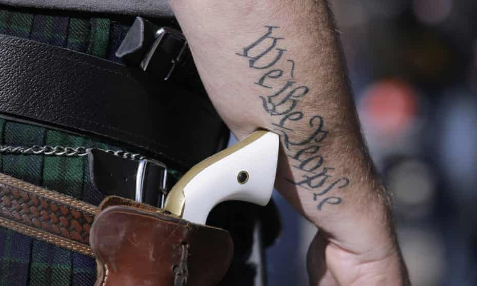 'Who gets to carry a gun in public? Who is coded as a patriot?'