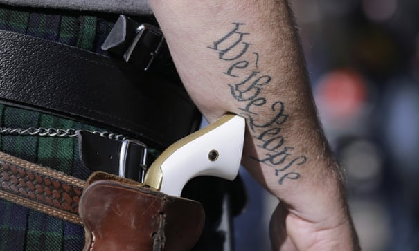 'Dying of whiteness': why racism is at the heart of America's gun inaction | US gun control | The Guardian