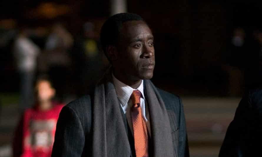 Well-acted treatise ... Don Cheadle in Crash.