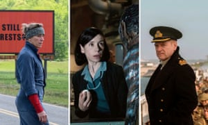 Leaders of the pack... Three Billboards, The Shape of Water and Dunkirk.