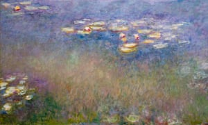 Water Lilies, 1916-26 by Monet: 'There is no up or down, no end to the beauty.'