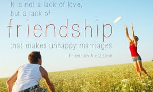 If your friends are getting engaged, you'll probably be seeing this quote floating around on Pinterest