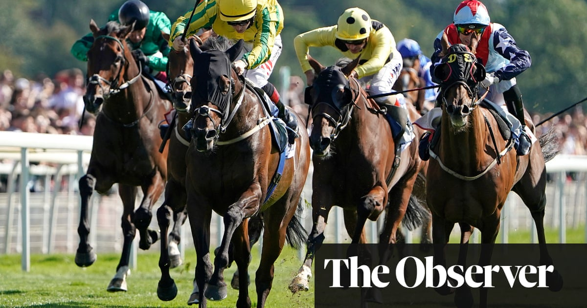 Mustajeer holds off challengers to win £1m Ebor for Ger Lyons