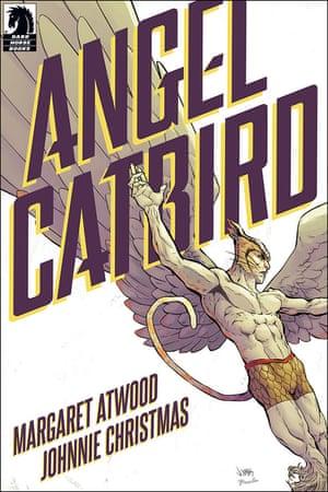 The cover art for Angel Catbird.