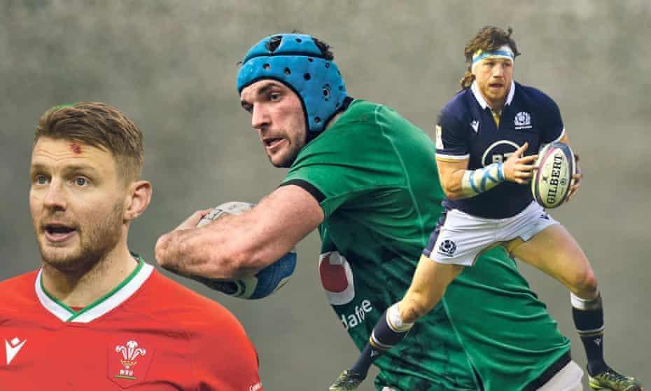 Lions hopefuls (from left): Wales's Dan Biggar, Ireland's Tadhg Beirne and Hamish Watson of Scotland.