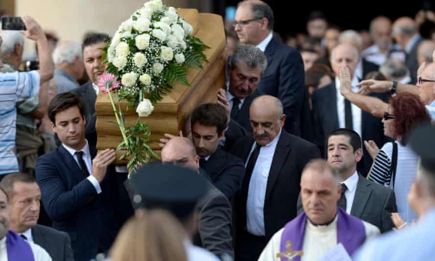 Funeral of Daphne Caruana Galizia