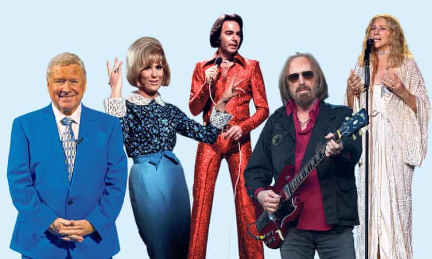 Boom Radio DJ David 'Diddy' Hamilton, and artists Dusty Springfield, Neil Diamond, Tom Petty and Barbra Streisand.