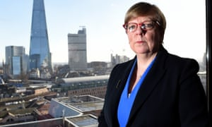 Alison Saunders in her office in London.