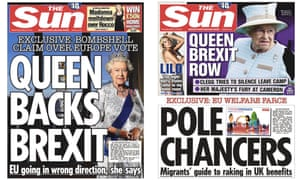 The Sun front pages from Wednesday and Thursday