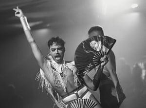 Harvey Rose at Ibiza club nightclub Glitterbox
