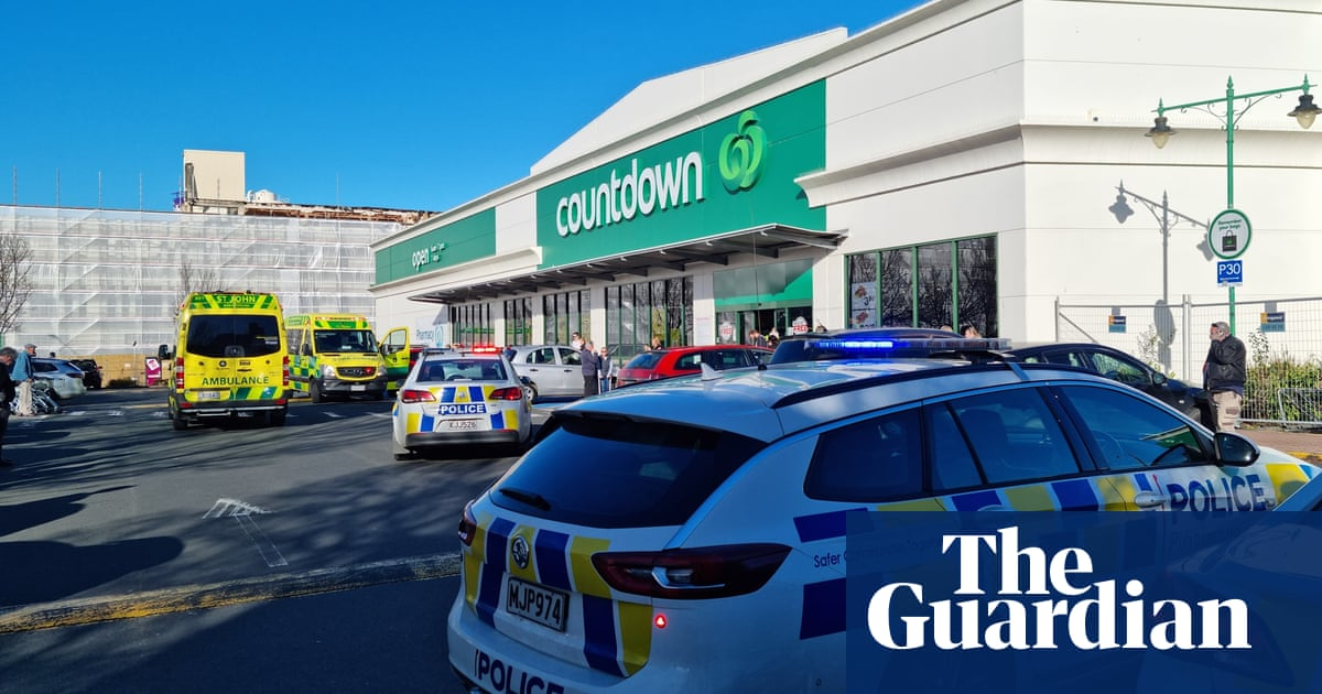New Zealand stabbing: four injured in attack at Dunedin supermarket
