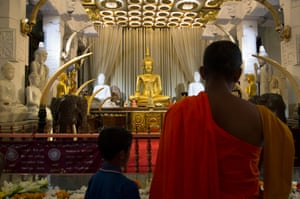 Buddism is the most common religion in Sri Lanka