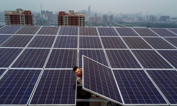 Renewable energy will be world's main power source by 2040, says BP   BP   The Guardian