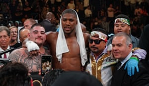 Ruiz poses with Joshua.