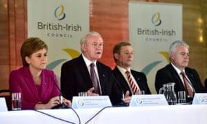 Nicola Sturgeon, Martin McGuinness, Enda Kenny and Carwyn Jones