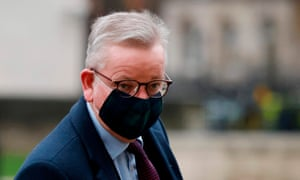 Britain's Chancellor of the Duchy of Lancaster Michael Gove.