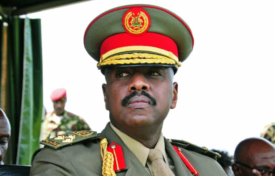 Lt Gen Muhoozi Kainerugaba, Yoweri Musevni's son and commander of the SFC.