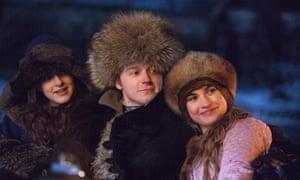 War and Peace with Aisling Loftus (Sonya), Jack Lowden (Nikolai) and Lily James (Natasha).