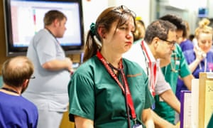 Consultant Dr. Diana Hulbert, working in University hospital, Southampton in A&E.