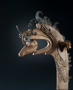 Man's headgear, from the Pazyryk valley, Altai mountains, southern Siberia, late 4th–early 3rd century BC.