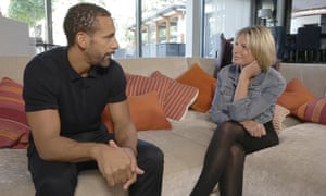 A lot of the time it felt like therapy … Rio Ferdinand and Decca Aitkenhead