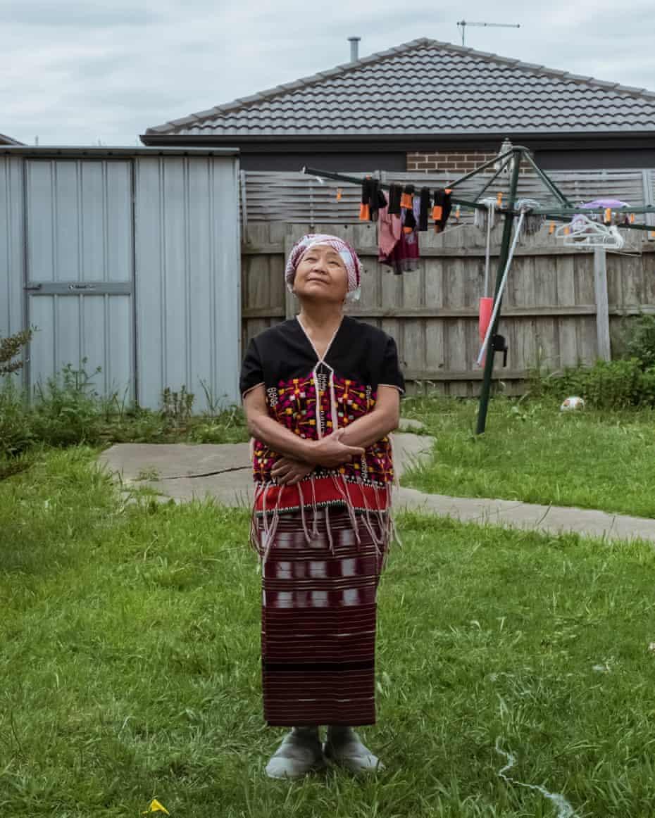 وریبی ، استرالیا.  پاو مو باو کاو پاو از مردم کارن ، از اقلیت های قومی برمه است.
