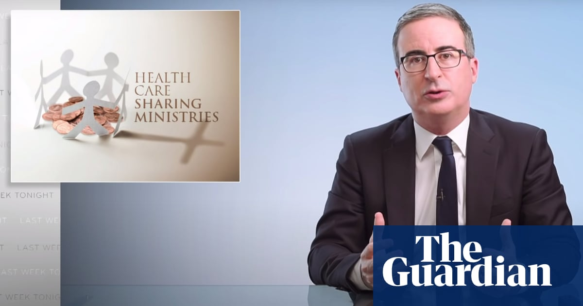 John Oliver on healthcare ministries: 'They are not health insurance'