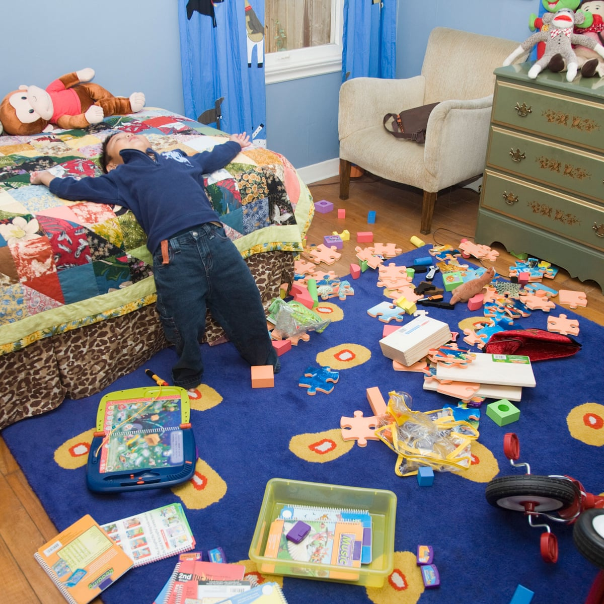 Drowning in kid clutter? Here's how to organise their stuff | Life and  style | The Guardian