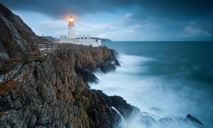 The Irish Sea from the Douglas Head lighthouse on the Isle of Man: Theresa May has ruled out an Irish Sea customs border.