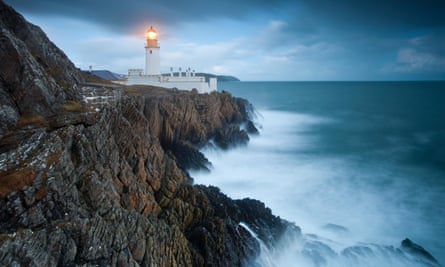 Imprisoned by the sea … Douglas Head Lighthouse on the Isle of Man, which inspired Gilbert's Neverness. Photograph: Alamy