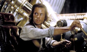 Guy Pearce in the most recent adaptation of The Time Machine in 2002.