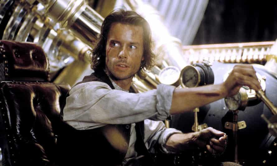 Guy Pearce in the 2002 film adaptation of The Time Machine.