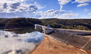 Water levels in Warragamba dam have fallen below 55% sparking stage one water restrictions.