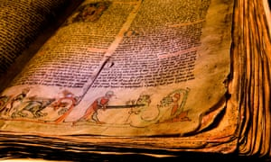 The parchment manuscripts of the sagas  in Reykjavik's Culture House