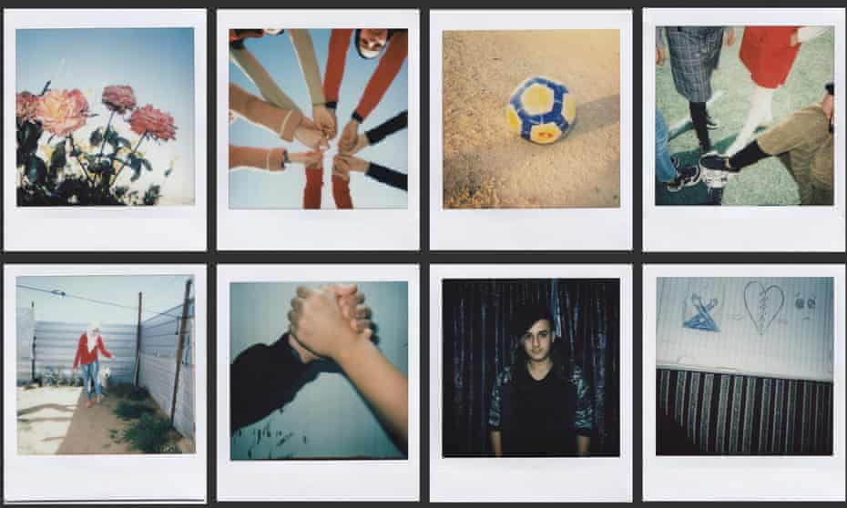 The project that Héctor Bellerín spearheaded with Pixie Levinson where they donated Instax cameras to Syrian children so they could tell their own story through the camera lens