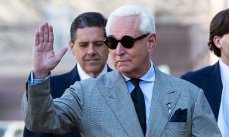Roger Stone attorneys demand new trial after Trump tweets – as it happened