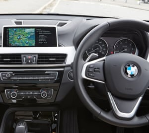 On the road: 'A hurricane couldn't shift it' – BMW X1 car review