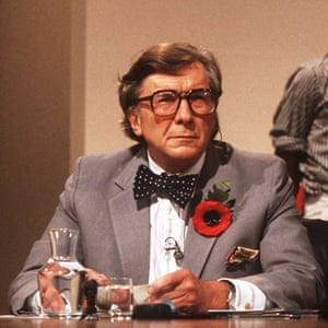 Sir Robin Day, Question Time's first presenter.