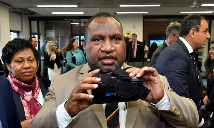Papua New Guinea prime minister James Marape has dealt a blow to Australian diplomacy by asking China to refinance his country's debt.