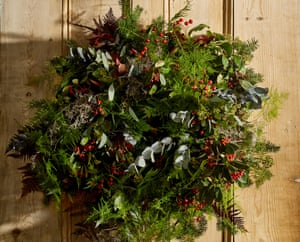 Christmas wreath from Rocco Flowers.
